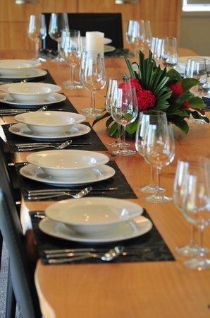 Kerikeri Cooking Club: Club dinning room