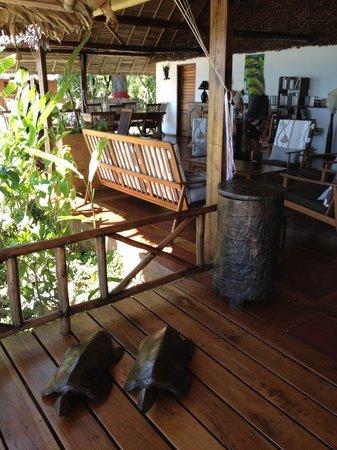 Antoremba - Lodge: veranda pranzo e relax