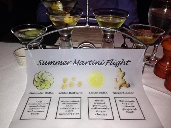 Shadowbrook : summer flight of martinis