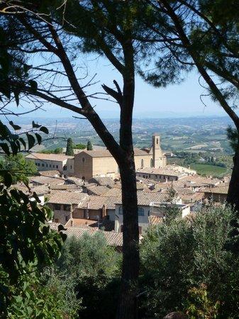 Piazza della Cisterna: <3 Gimignano - hilltop view