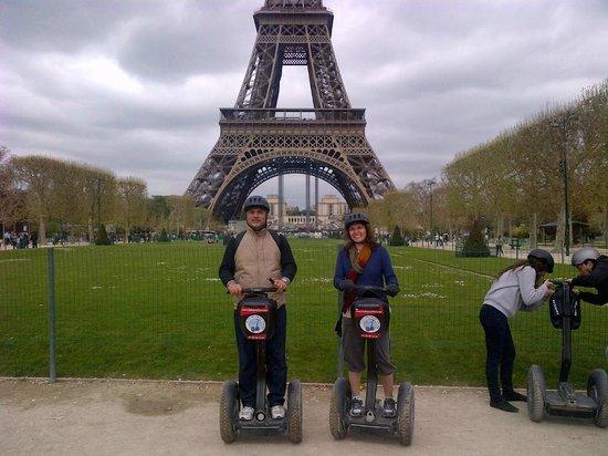 Fat Tire Tours Paris: segway tour of paris