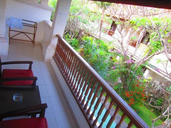 هوتل بوري راجا: Balcony