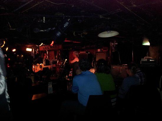 Cafe Wha?: great venue, great music