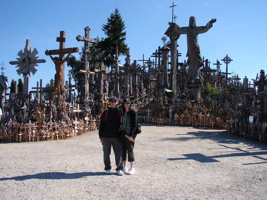 Berg der Kreuze Šiauliai: Hill of Crosses