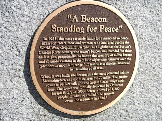 Mount Greylock State Reservation: A Beacon Standing For Peace