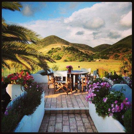 Casa Fajara Rustic Boutique House & Hotel: Balcony garden view