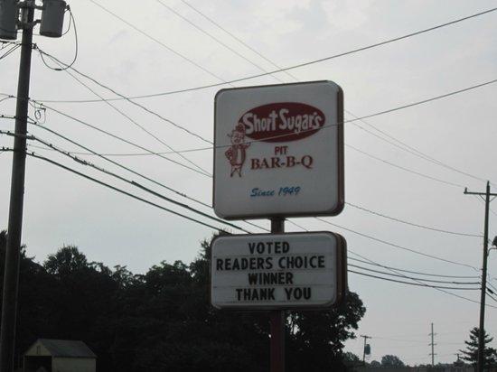 Short Sugar's Pit Barbecue: Best BBQ in Reidsville