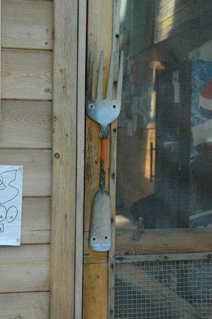 Roadside Potatohead: Door handle