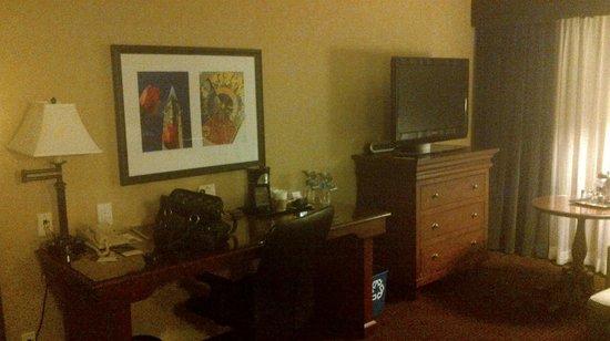 Sheraton Ottawa Hotel: Work area
