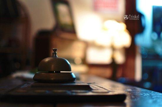 La Posada del Tope Hotel: recepción