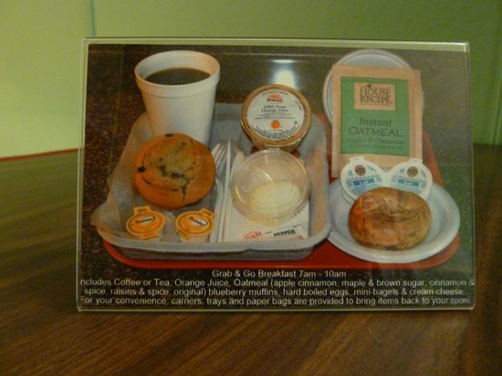 Highbrook Motel: Grab & Go Breakfast