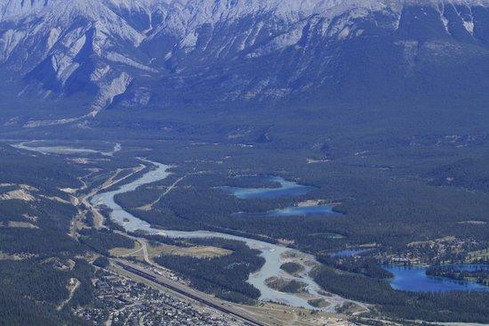 Jasper SkyTram : The two lakes