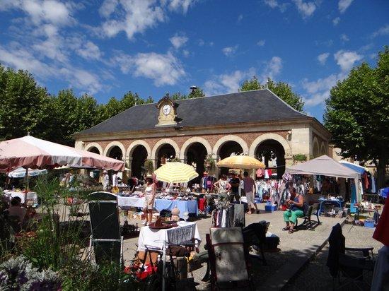 Maison Porte del Marty : The village square