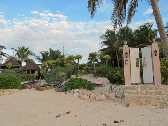 Playa Esperanza from the beach