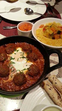 Casserole : Beef meatballs