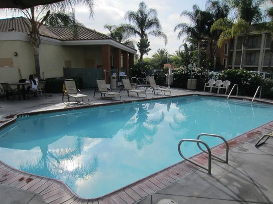 Cortona Inn & Suites Anaheim Resort : Spacious pool area
