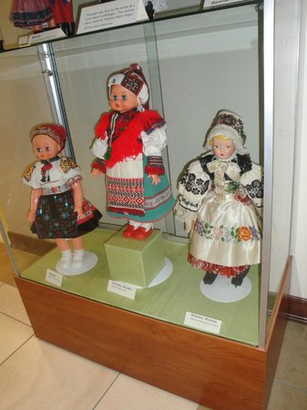 National Czech & Slovak Museum & Library: Moravian kroje doll