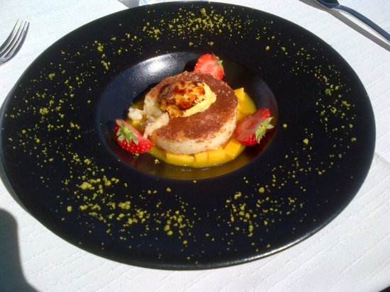 Chez le Per'Gras : Très bon dessert, en conclucion d'un excellent repas