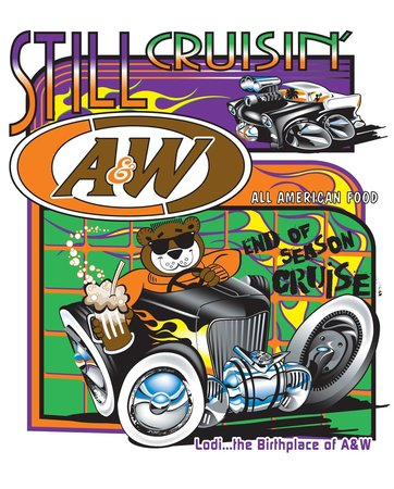A & W All American Food: Even Rooty enjoys Cruisin'