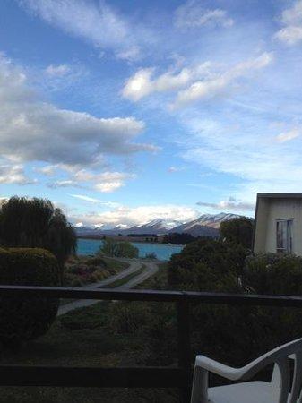 Parkhead Motel: view from balcony