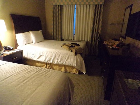 Hilton Garden Inn New York/Tribeca : Two bed room.