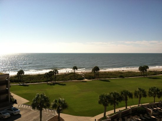 DoubleTree Resort by Hilton Myrtle Beach Oceanfront: View from our room