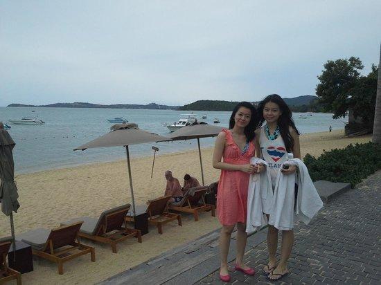 Hansar Samui Resort: beach