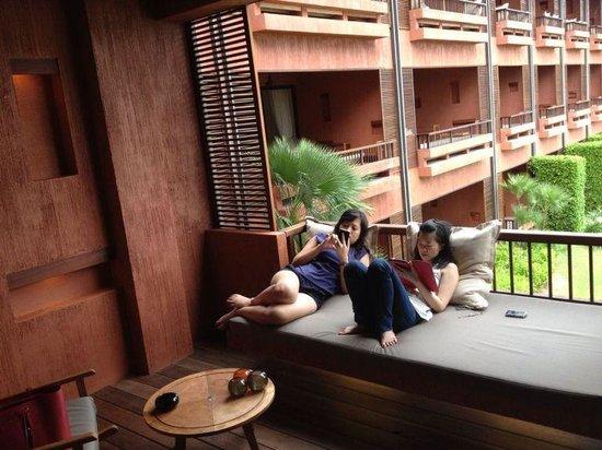 Hansar Samui Resort: Terrace