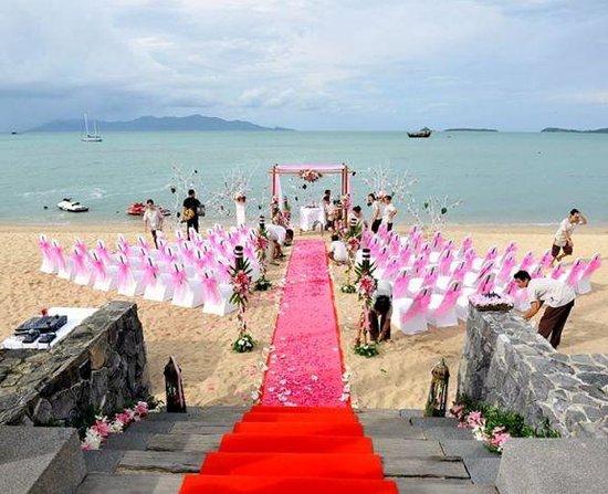 Hansar Samui Resort: wedding decoration