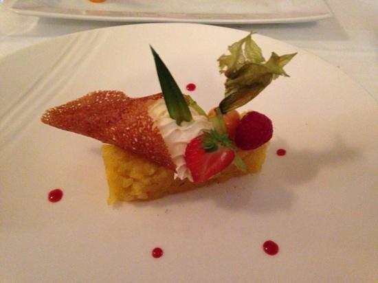 La tour maline : dessert