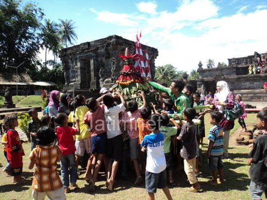 Penataran Temple: Ritual di Candi Penataran Blitar 1X dalam 1 tahun
