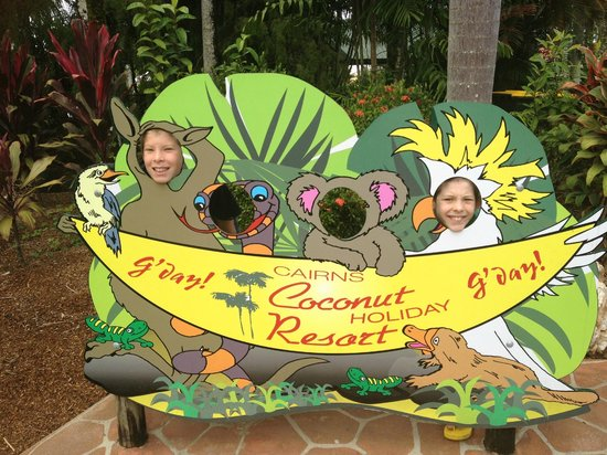Cairns Coconut Holiday Resort: Smile