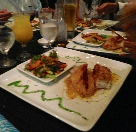 Zk Nikkei Cuisine: Main dish fish