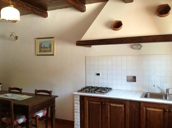 Agriturismo Collelignani: soggiorno appartamento