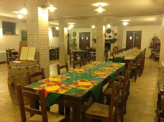 Agriturismo Collelignani: ristorante
