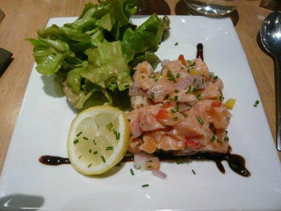 L'Hexagone : tartare saumon