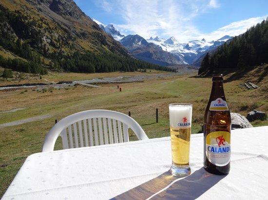 Hotel Restaurant Roseg Gletscher: Was will man mehr?