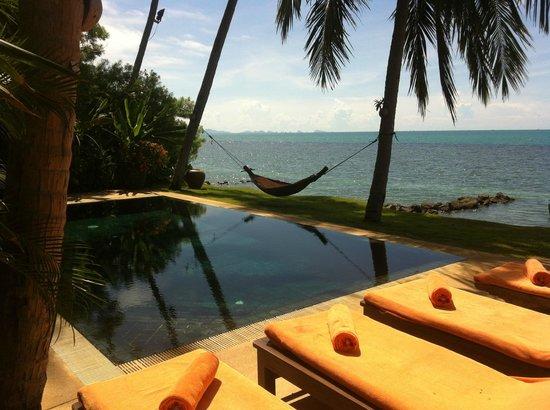 Belmond Napasai: Private Pool and beach