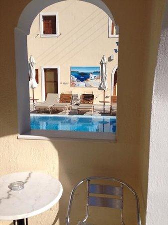 Roula Villa: view from the balcony