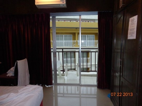 Thai Siam Residence: balcony