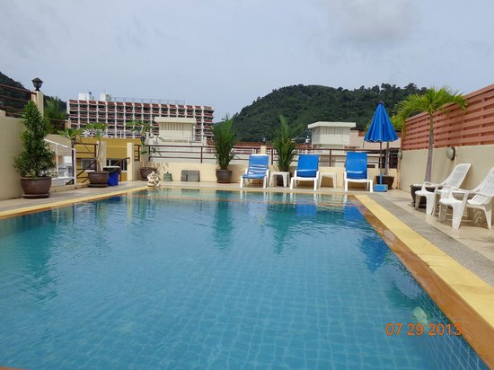 Thai Siam Residence : roof top pool