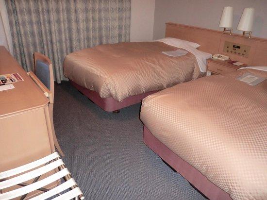 Kagoshima Tokyu REI Hotel: ツインの部屋