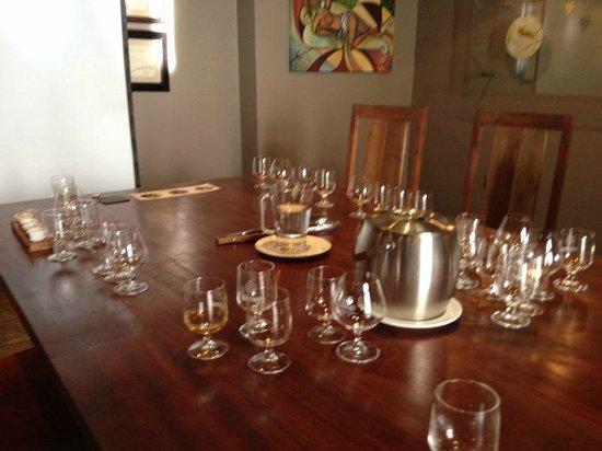 Klipdrift Distillery: The Klipdrift tasting room
