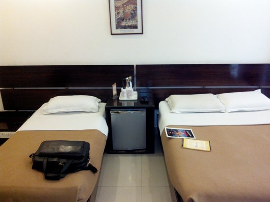 Hotel Delhi City Centre: clean beds