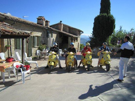 Agriturismo La Vallata: de perfecte vertrekplaats om Umbrië te ontdekken met Vespa's!