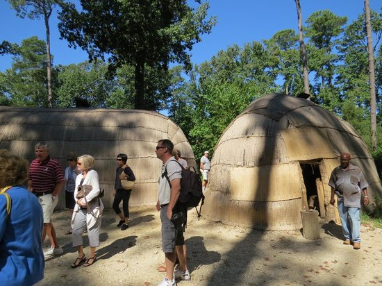Jamestown Settlement: Indian Huts