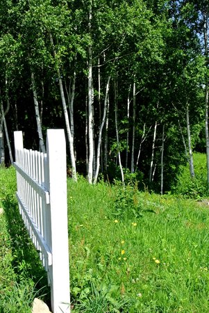 Pension Hoshini-negaiwo : white picket fences