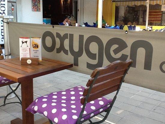 Oxygen Cafe bar : Oxygen bar