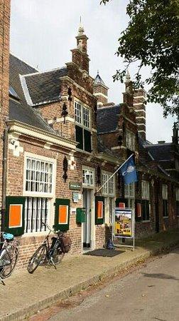 Buren, Niederlande: ingang marechaussee museum