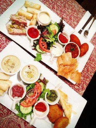 Zafron : Sharing plates